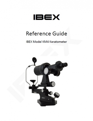 LED Manual Keratometer User's Guide
